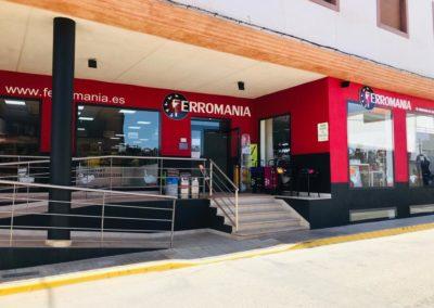 Ferromania exterior tienda